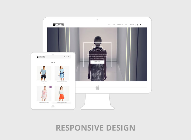Blanche Responsive