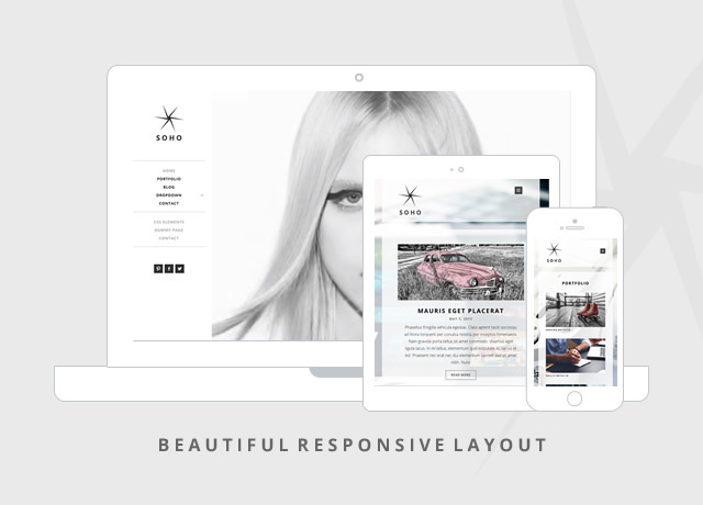 Soho responsive WordPress theme
